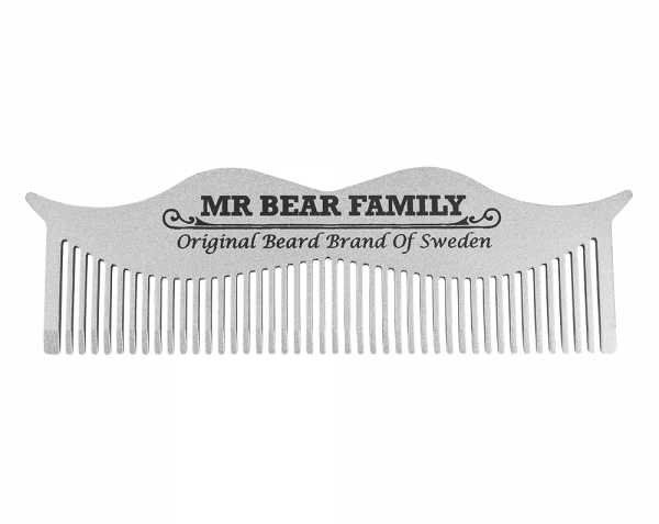 Moustache Steel Comb