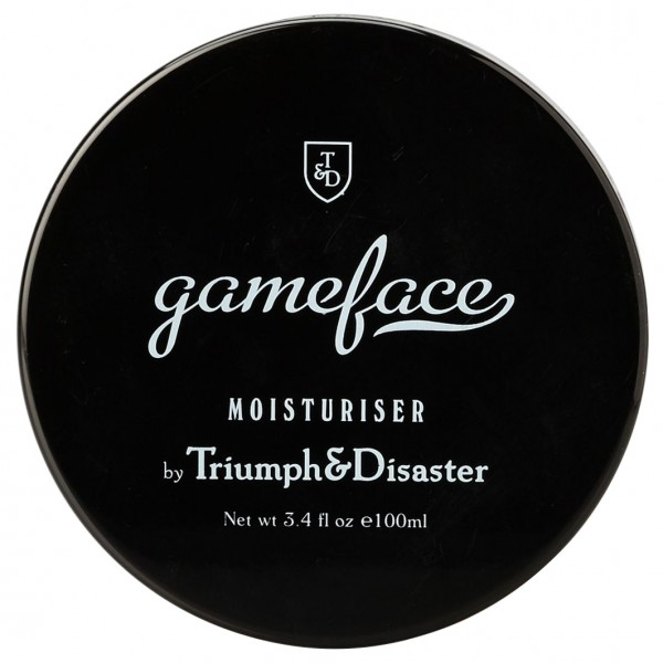 Gameface Facial Moisturiser Jar