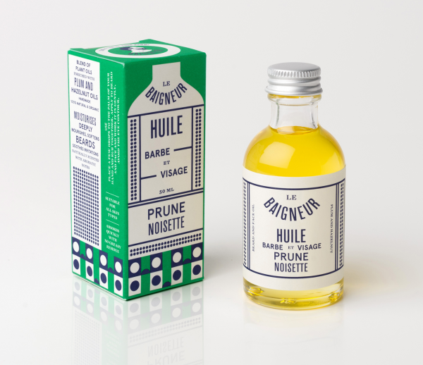 Plum Hazelnut Beard & Face Oil