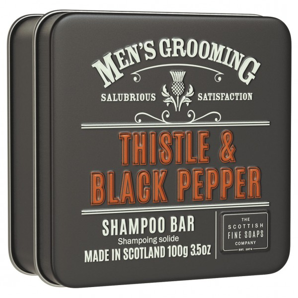 Men´s Grooming Thistle & Black Pepper - Shampoo Bar