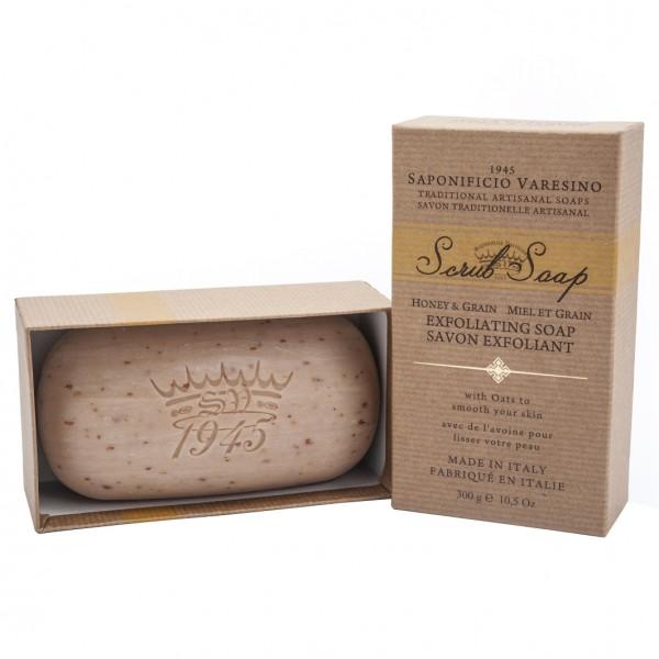 Scrub Soap Honey&Grain