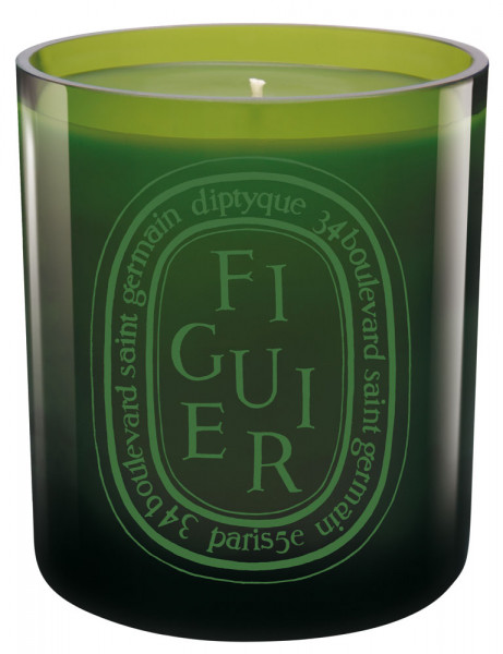 Figuier Colored candle Green