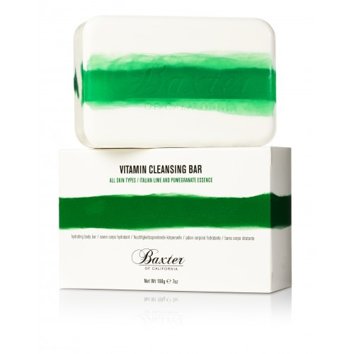 Vitamin Cleansing Bar Lime & Pomegranate
