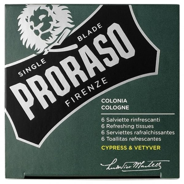 Erfrischungstücher Cypress & Vetyver