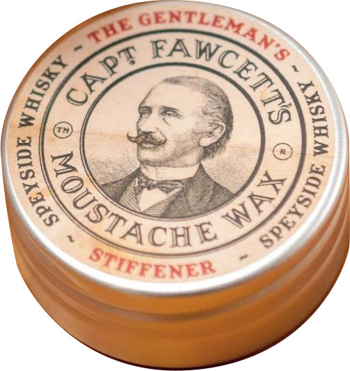 Captain Fawcett's Moustache Wax Stiffener