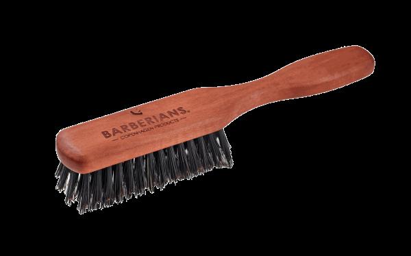 Bartbürste mit Griff Wildschwein