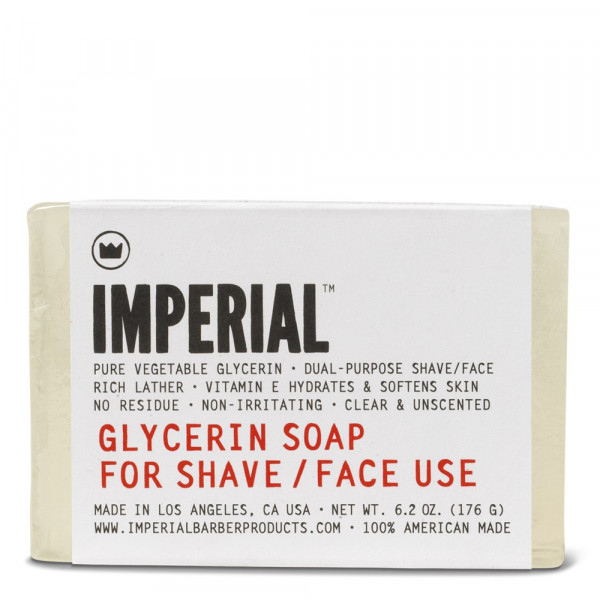 Glycerin Shave & Face Soap Bar