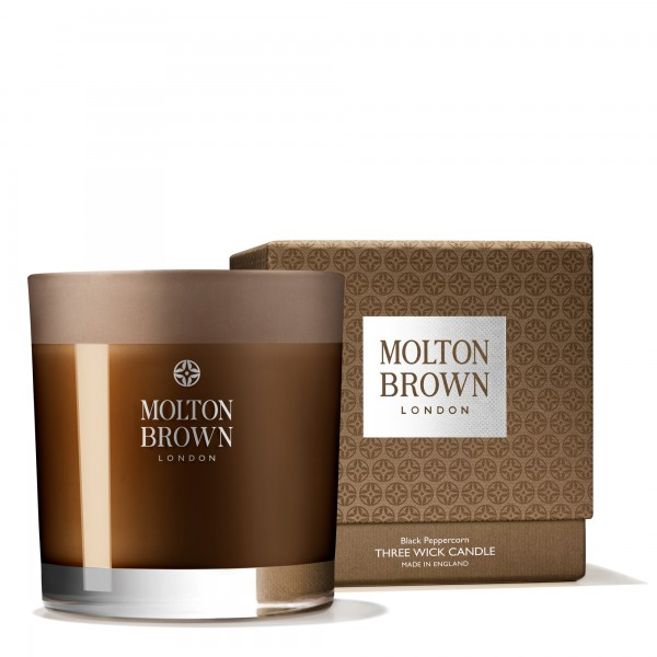 Molton Brown Black Peppercorn Three Wick Candle