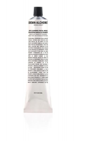 Facial Masque Deep Purifying Wheatgerm Ginkgo & Cranberry