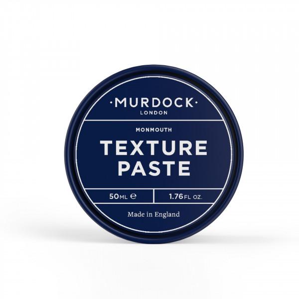 Texture Paste, Haarstylingpaste, Leichter Halt und Leichter Glanz, Murdock, London, pflege, haare, styling, trocken, herren, frisur