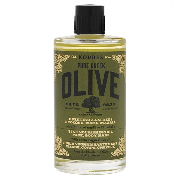 Olive 3in1 Nourishing Oil Face, Body, Hair