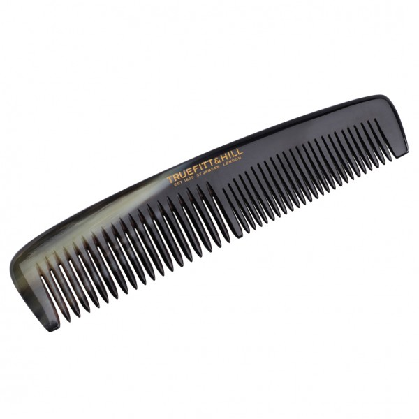 Medium Double Tooth Horn Comb
