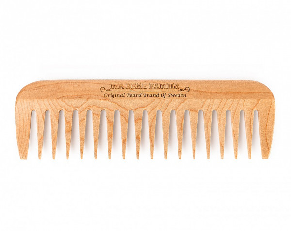 Wooden Comb Bartkamm von Mr. Bear Family