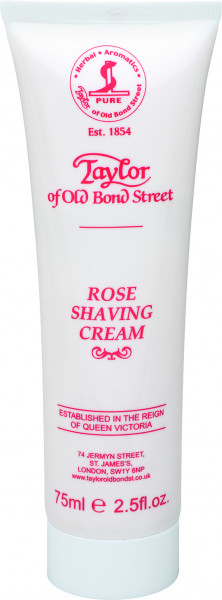 Taylor of Old Bond Street Rose Luxury Shaving Cream