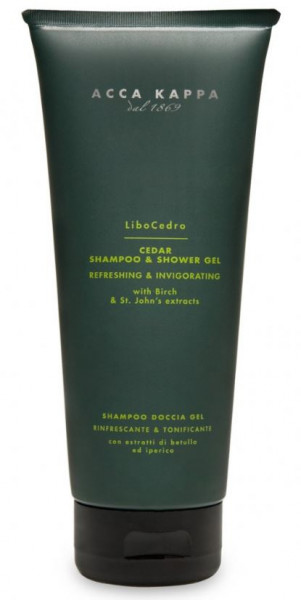 Cedro Shampoo and Shower Gel
