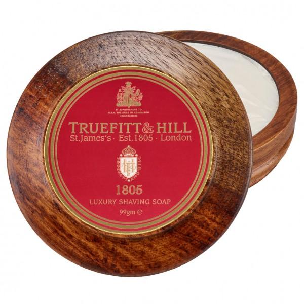 1805 Luxury Shaving Soap in Wooden Bowl