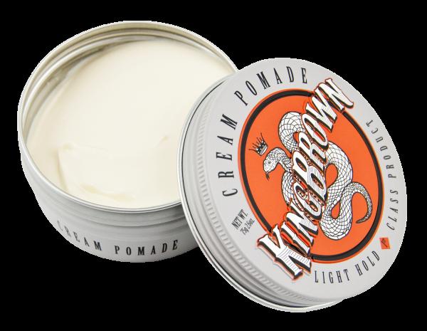 Cream Round Tin
