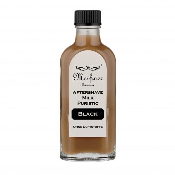 Aftershave Milk Puristic Black