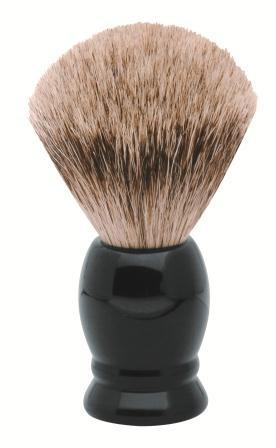 Rasierpinsel 6315 schwarz (Reines Dachshaar)