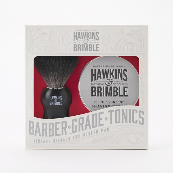Shaving Gift Set (Shave Brush & Shave Cream)