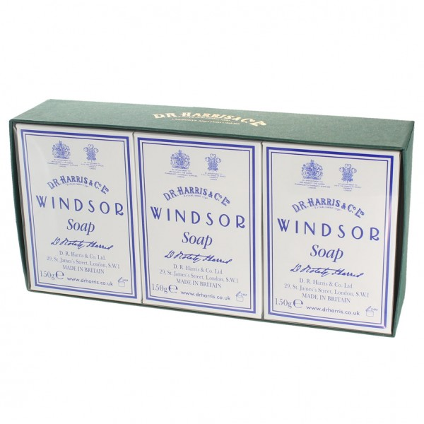 Windsor Bath Soap Box of 3