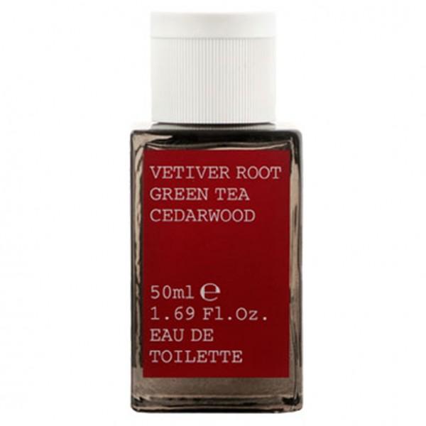 Vetiver Root, Green Tea, Cedarwood Eau de Toilette Spray