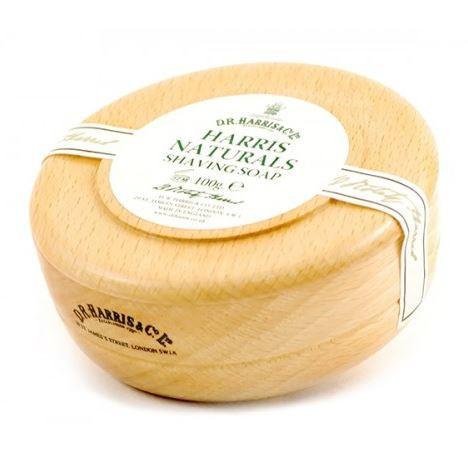 Natural Shaving Soap in Beech Bowl