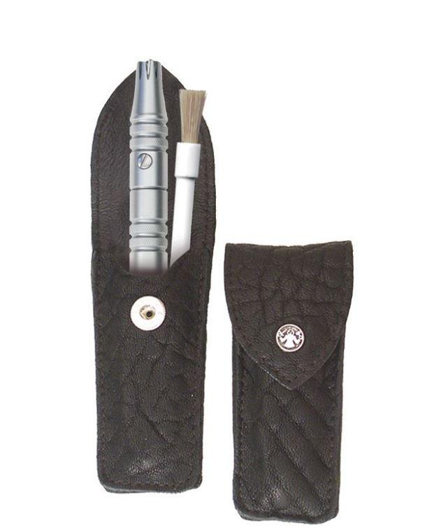 Vorschaubild von DOVO MERKUR Solingen - Nasenhaar Klipette in schwarzem Rindlederetui | Instrumente