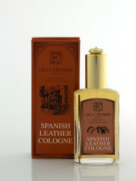 Spanish Leather Cologne Glasflakon mit Zerstäuber
