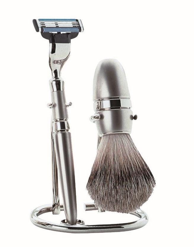 Becker Manicure Shaving Shop Rasiersets Rasier-Set Gillette Mach3, 3-teilig 1 Stk.