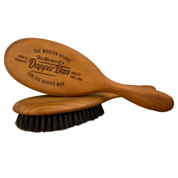 Haarbürste mit Griff Schwarz XL