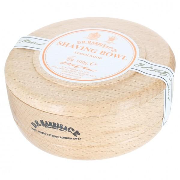 Sandalwood Shaving Soap in Beech Bowl