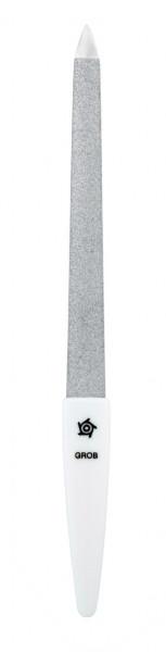 Nagelfeile Saphir 1220 Gebogen Weiß 160