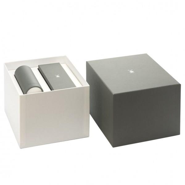 SOPHIST 3-tlg. Rasierset Silberspitz/Dachszupf Griffmaterial Grenadill-Holz