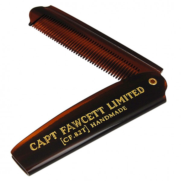 Folding Pocket Beard Comb CF.82T