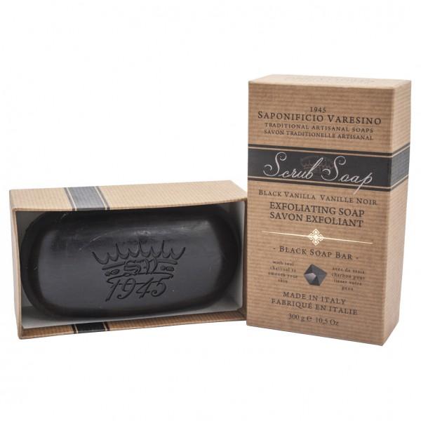 Scrub Soap Black Vanilla 300g