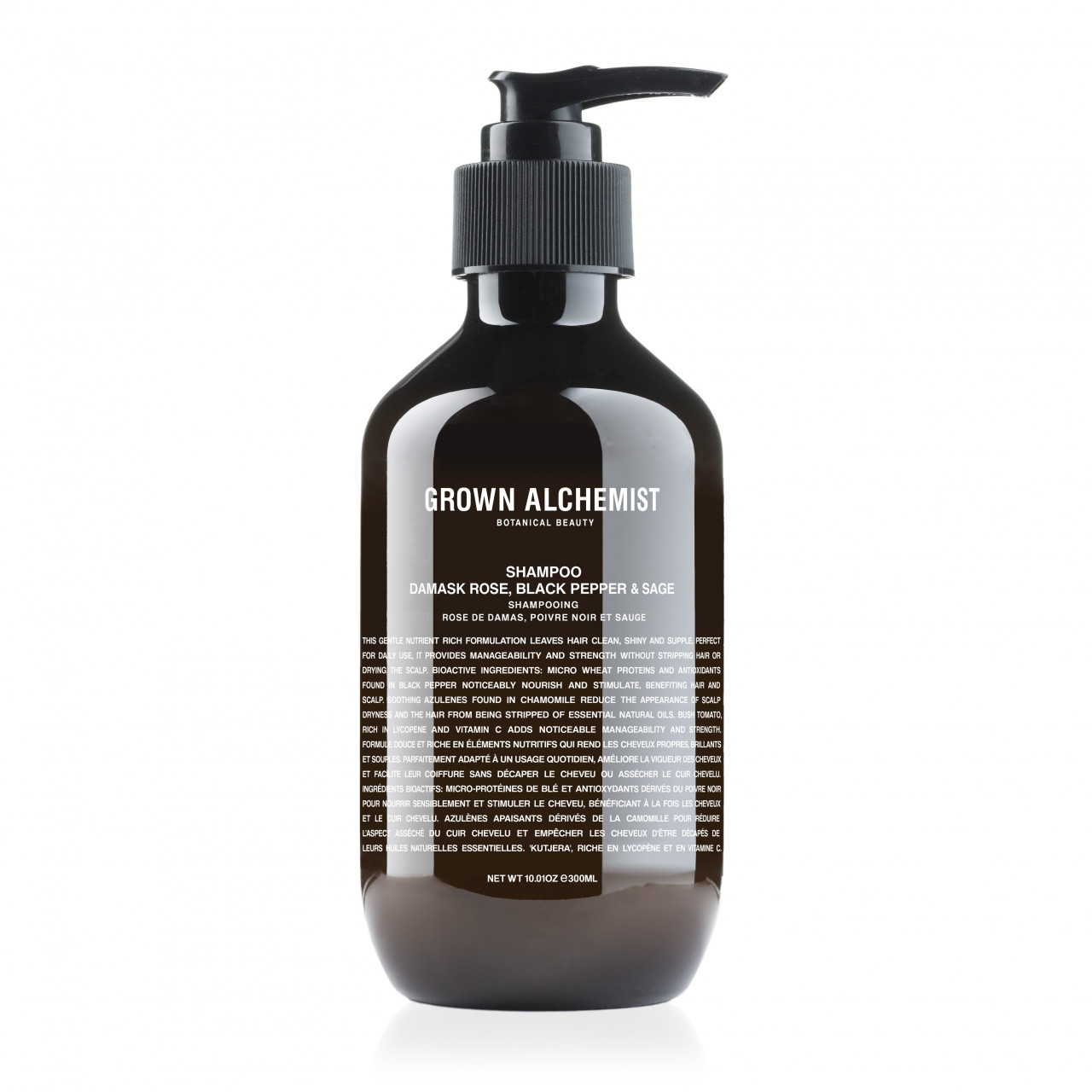Grown Alchemist ´´Shampoo Damask Rose, Black Pepper & Sage´´