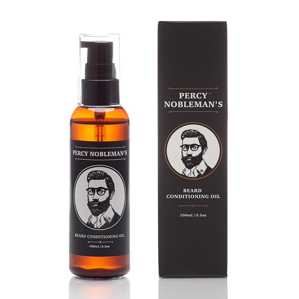 Percy Nobleman Gentlemans Beard Grooming Original Bartöl