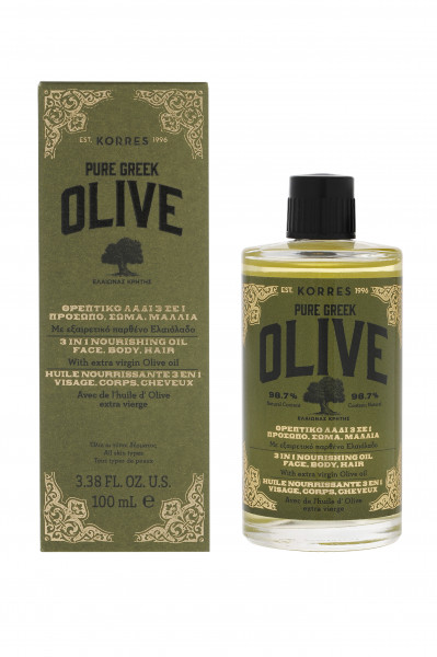 Pure Olive 3in1 Nourishing Oil Face, Body, Hair