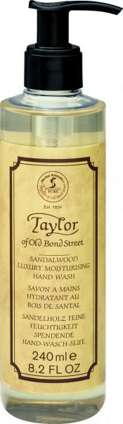 Taylor of Old Bond Street Sandalwood Luxury Moisturizing Hand Wash