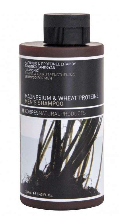 Korres Natural Products Magnesium   Wheat Proteins Shampoo  1adf0557c