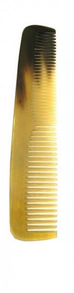 Taschenkamm aus irischem Horn 13 cm