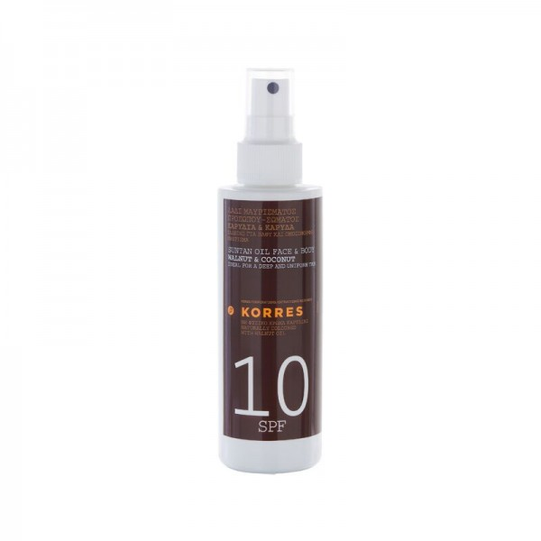 Korres Walnut & Coconut SPF 10