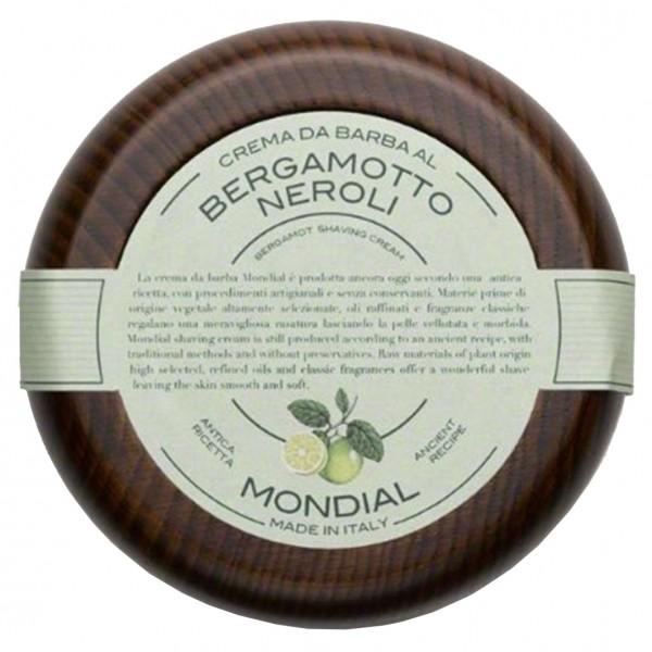 Rasiercreme im Holztiegel  Bergamotto Neroli