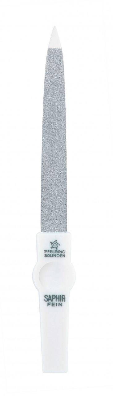 Pfeilring ´´Nagelfeile Saphir 1202 Weiss 130´´ Nagelaccessoires