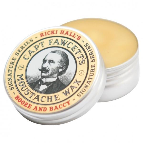 Ricki Hall's Booze & Baccy Moustache Wax