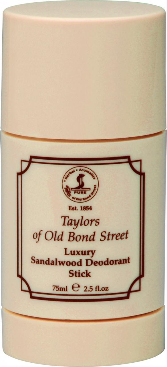 Taylor of old Bond Street Herrenpflege Sandelholz-Serie Deodorant Stick