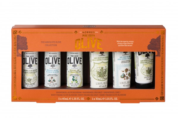 The Absolute Olive Collection - Reisegrößen-Set