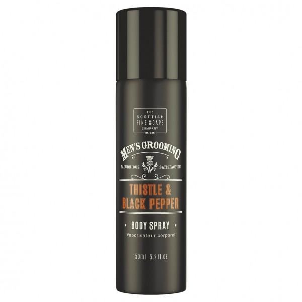 Men´s Grooming Thistle & Black Pepper - Body Spray