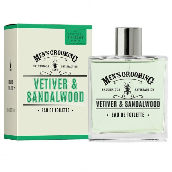 Vetiver & Sandalwood Eau de Toilette